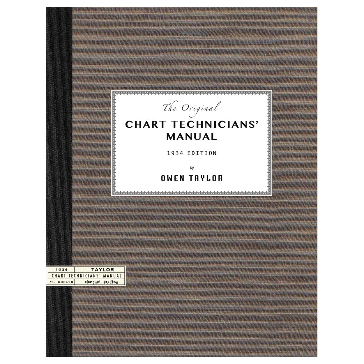 Chart Technicians' Manual (1934) by Owen Taylor