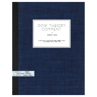 Dow Theory Comment, Vol. 1 by Robert Rhea