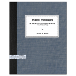 Ticker Technique: An analysis of the signals given by the Ticker Tape (1935) by Orline D. Foster